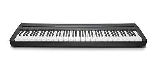 Yamaha Digital Piano P-45B, schwarz – Elektronisches Klavier für Einsteiger für authentisches Klavierspielen – Kompaktes & leicht zu bedienendes Digital Piano