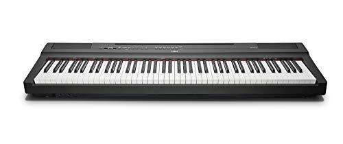Yamaha P-125B Digital Piano, schwarz – – Kompaktes elektronisches Klavier in schlichtem Design für perfekte Spielbarkeit – Kompatibel mit kostenloser App 'Smart Pianist'
