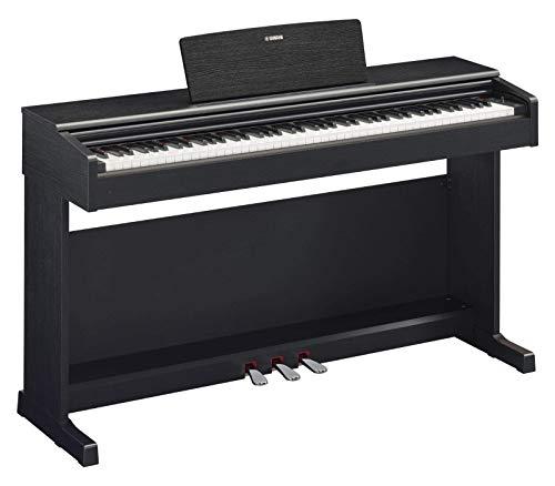 Yamaha Arius Digital Piano YDP-144B, schwarz – Elektronisches Klavier mit Hammermechanik, Konzertflügel-Klang & USB-to-Host-Anschluss – Kompatibel mit kostenloser App 'Smart Pianist'