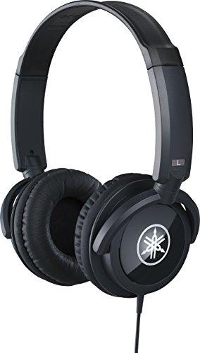 Yamaha HPH-100B Kopfhörer, schwarz – Geschlossener On-Ear-Kopfhörer für einzigartigen Sound & dynamischen Klang – Ideal als Zubehör für Yamaha Keyboards und Digital Pianos