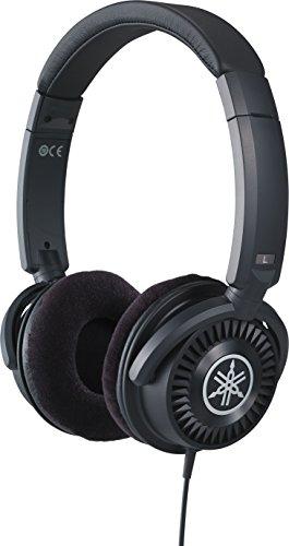 Yamaha HPH-150B Kopfhörer, schwarz – Offener On-Ear-Kopfhörer für exzellenten Sound & neutralen Klang – Kompaktes, modisches Design passend zu Yamaha Keyboards & Digital Pianos