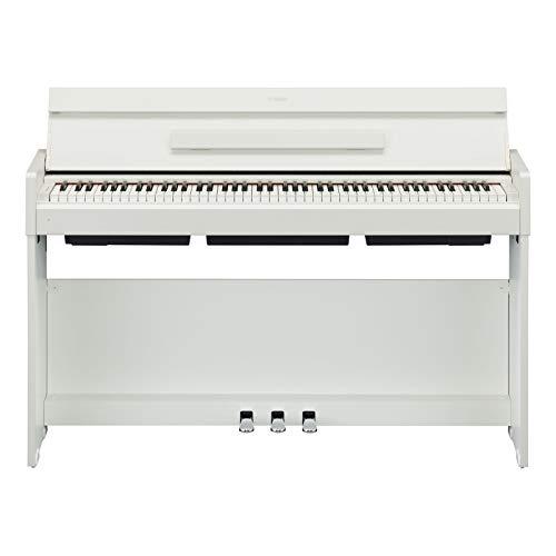 Yamaha Arius Digital Piano YDP-S34WH, weiß – Modernes E-Klavier mit Hammermechanik, Konzertflügel-Klang & USB-to-Host-Anschluss – Kompatibel mit kostenloser App 'Smart Pianist'