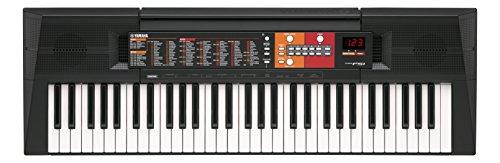 YAMAHA PSR-F51 Elektronische Tastatur – Tragbares Einsteigerinstrument mit 61 Tasten in voller Größe, Schwarz